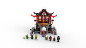 LEGO 70643 Baukit Ninjago Tempel der Auferstehung (765 Teile) Neu Ovp:  Amazon.de: Spielzeug