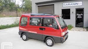 1991 Subaru Sambar Dias2 Awd Supercharged Kei Mini Van Amazing Subaru Mini Van Van