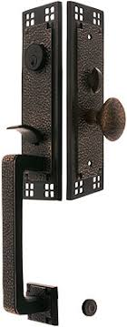 Concept Front Door Hardware Craftsman Style Mortise Handleset With Choice Of Interior Knob Inside Inspiration Decorating