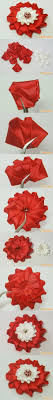 How To Make A Paper Ribbon Flower Diy Make Simple Ribbon Flowers Step By Step K4 Craft