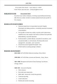 Sample Resume Accountant Sample Accounting Resume Template