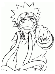 Small Picture Naruto Coloring Pages Fresh 10983
