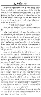 essay on love for one s own country in hindi