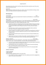 Resume Examples Templates Download For Job Environmental Science