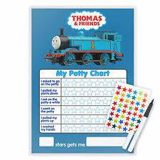 Thomas Potty Toilet Training Reward Chart Pen Star