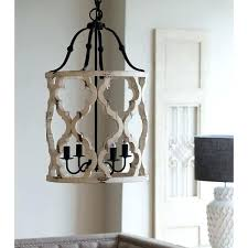distressed white wood chandelier elegant french