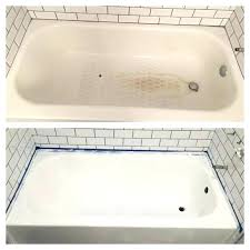 bathtub touch up paint can you paint a porcelain sink beautiful refinishing a porcelain tub best