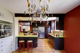 Eclectic Kitchen Eclectic Kitchen Dark Cabinets Quicuacom