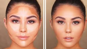 how to contour highlight