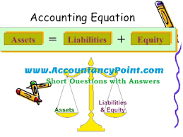accounting equation mcqs with answers