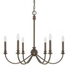 ceiling lights glamorous red 6 light chandelier capital lighting fixture company for minimalist round