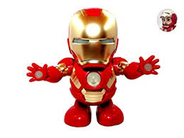Buy TOYMANIA Musical Ironman <b>Dancing Robot Action</b> Toy for Kids ...