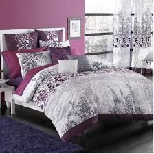 pink and gray and purple comforter bed bath beyond kas enchanted duvet set