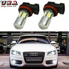 Audi A5 Fog Light Bulb Size Details About 6000k White Projector Led 100w Fog Light Bulbs For Audi A3 A4 A5 A8 Q3 Q5 Sq5 Tt
