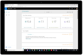 Microsoft Fitness Tracker Myanalytics The Fitness Tracker For Work Is Now More
