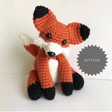 Crochet Fox Pattern Fascinating Crochet Fox Pattern Sox The Fox Amigurumi Fox Pattern Etsy