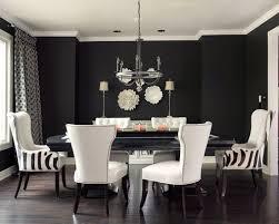 modern dining room furniture. Captivating-modern-dining-room-with-black-and-white- Modern Dining Room Furniture C