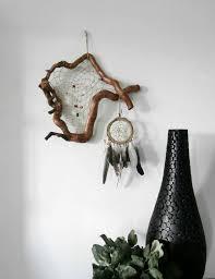 Unusual Dream Catchers Large dream catcher Rustic wall hanging Unusual Bohemian décor 65