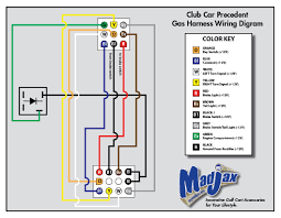 edgewater custom golf carts precedent gas harness wiring diagram