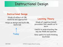 Instructional Design Theory And Models Ppt Ppt Instructional Design Powerpoint Presentation Free