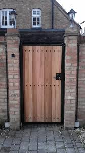 wrought iron gate with wood wooden gates wooden gate wood gate gates