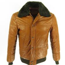 william barry leather puffy jacket i15t 1