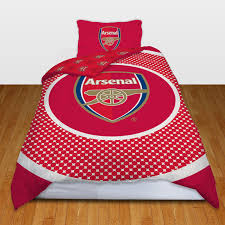 Liverpool Bedroom Accessories Single Football Duvet Cover Bedding Sets Official Arsenal Man