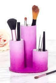 easy and diy makeup holder