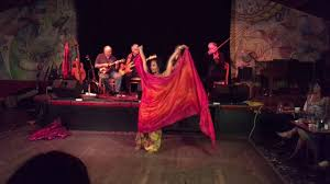 Basinah Belly Dance performing live to Light Rain Sept. 2016.