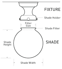 Lamp Shade Size Guide Litology Co