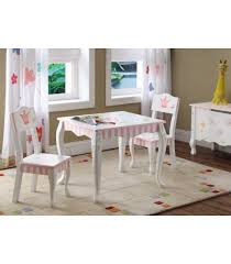 Kids Princess and Frog Table Set of 2 Chairs designed by Teamson