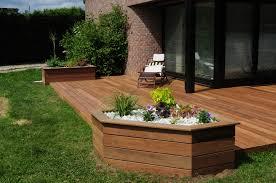 Projet Et R Alisation Jardin Terrasse En Bois Balcon Lille Lens