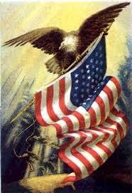 US Flag Eagle Graphic