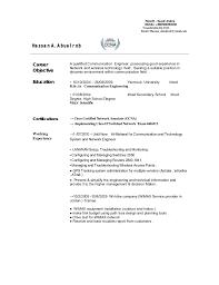 Wimax Test Engineer Sample Resume Telecom Engineer Cv 92