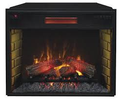28 spectrafire infrared quartz electric fireplace insert