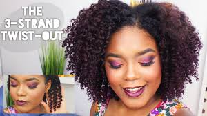 Twist Hair Style natural hairstyles the 3 strand twistout youtube 1757 by stevesalt.us