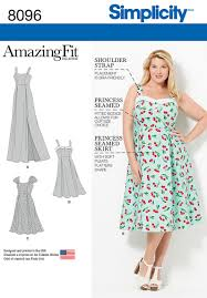 Plus Size Dress Patterns Classy Simplicity 48 Amazing Fit Plus Size Dresses