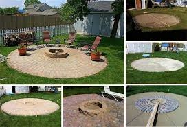 diy patio with fire pit. DIY-Fire-Pits-10 Diy Patio With Fire Pit U
