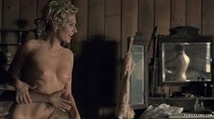 Evan Rachel Wood Frontal Nude in Westworld s01e01 PureCelebs