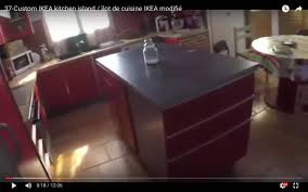 custom ikea kitchen island