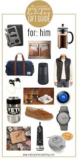 find the perfect holiday gift for the guys in your life with this gifts for him