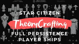 Star Citizen Theorycraft Full Persistence Player Ships Gamplay Speculation