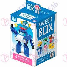 Sweet Box Конфитрейд Робокар Поли <b>мармелад с игрушкой</b> 10г ...