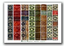 book spine printable