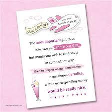 wording for wedding invitations money instead of gifts how to ask for money instead of wedding