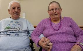 Stick with it': Norman and Betty Elsner have been married 65 years ...