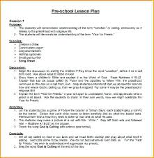 Preschool Lesson Plan Template Weekly For Sample Math Fun Thematic ...