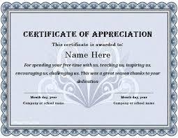 Volunteer Certificate Of Appreciation Templates Volunteer Certificate Of Appreciation Templates Template Sample