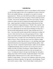 community service paper words managing a mentorship program  2 pages leadership essay improved