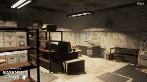 basement. Title; Example Of Scrap And Rebuild Military Bunker Epsilon; Basement